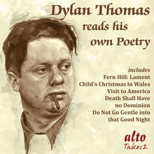 Load image into Gallery viewer, DYLAN THOMAS READS HIS OWN POETRY