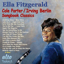 Load image into Gallery viewer, ELLA FITZGERALD: COLE PORTER & IRVING BERLIN SONGBOOK CLASSICS