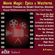 Load image into Gallery viewer, MOVIE MAGIC: EPICS & WESTERNS - DAVIS, ROYAL PHILHARMONIC