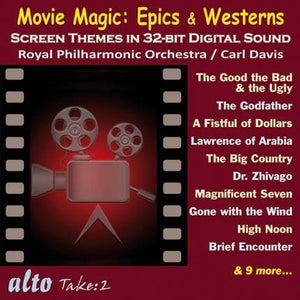MOVIE MAGIC: EPICS & WESTERNS - DAVIS, ROYAL PHILHARMONIC