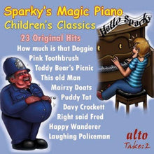 Load image into Gallery viewer, SPARKY'S MAGIC PIANO - CHILDREN'S RADIO CLASSICS