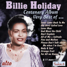 Load image into Gallery viewer, VERY BEST OF BILLIE HOLIDAY