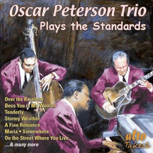 Load image into Gallery viewer, OSCAR PETERSON TRIO PLAYS THE STANDARDS