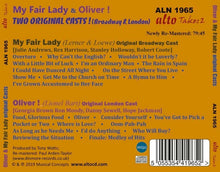Load image into Gallery viewer, TWO ORIGINAL MUSICAL CLASSICS: MY FAIR LADY AND OLIVER!