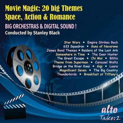 MOVIE MAGIC: 20 BIG THEMES - SPACE, ACTION & ROMANCE - STANLEY BLACK, LONDON SYMPHONY