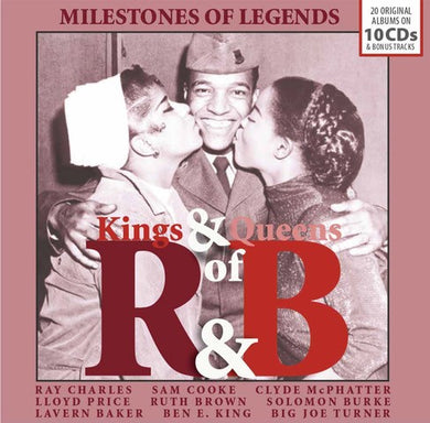 KINGS & QUEENS OF RHYTHM & BLUES (10 CDS)