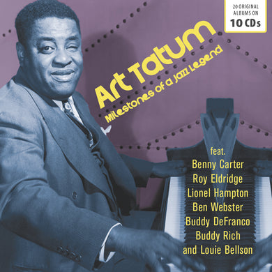 ART TATUM: MILESTONES OF A JAZZ LEGEND (10 CDS)