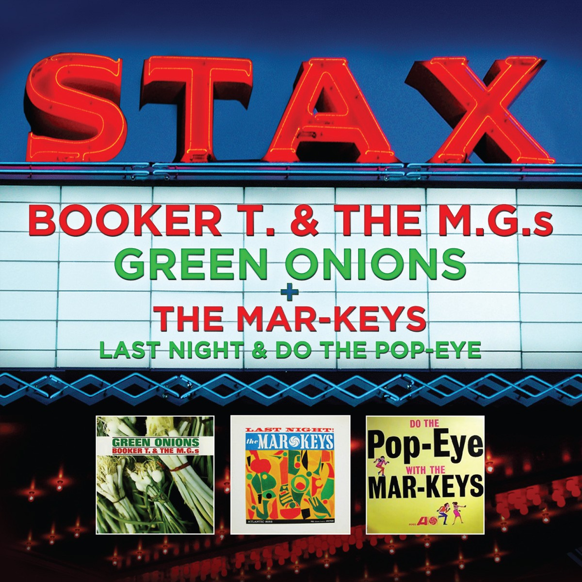 BOOKER T & THE MG'S & MAR-KEYS: Greatest Hits (2 CDS)