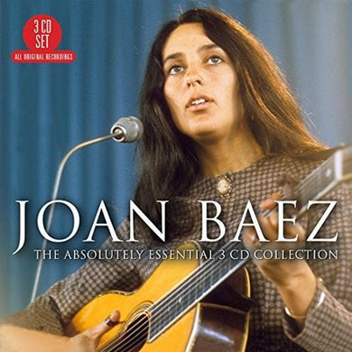 JOAN BAEZ: The Absolutely Essential Collection (3 CD SET)