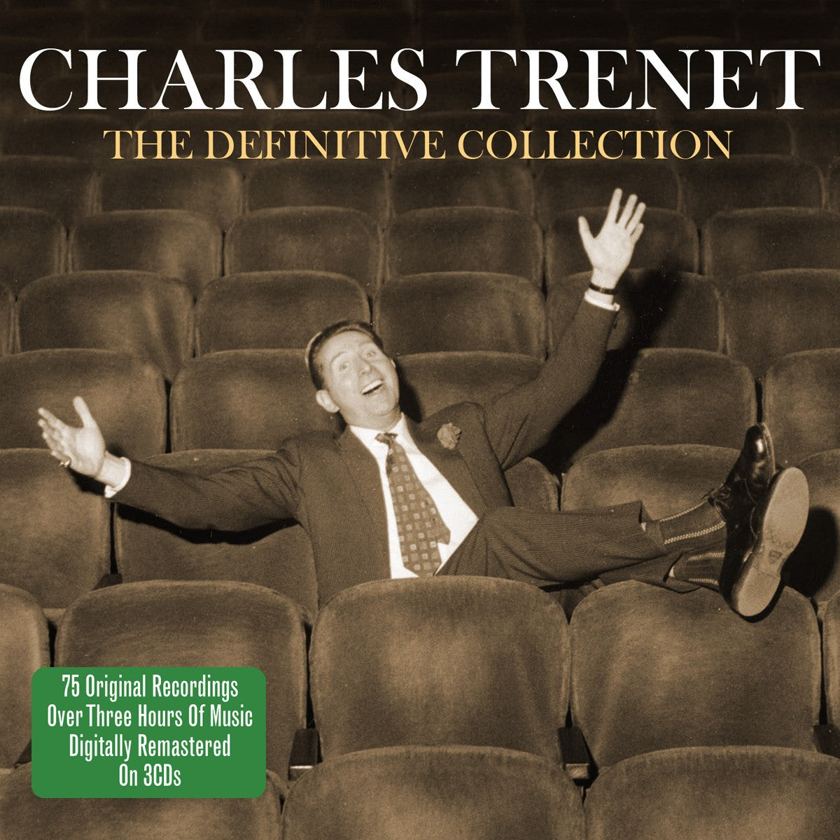 CHARLES TRENET: DEFINITIVE COLLECTION (3 CDS)
