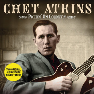 CHET ATKINS: Pickin' On Country (2 CDS)