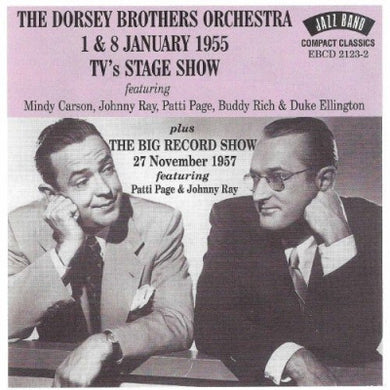 DORSEY BROTHERS ORCHESTRA: 1 & 8 January 1955 TV's Stage Show
