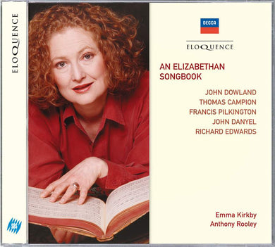 AN ELIZABETHAN SONGBOOK - EMMA KIRKBY, ANTHONY ROOLEY