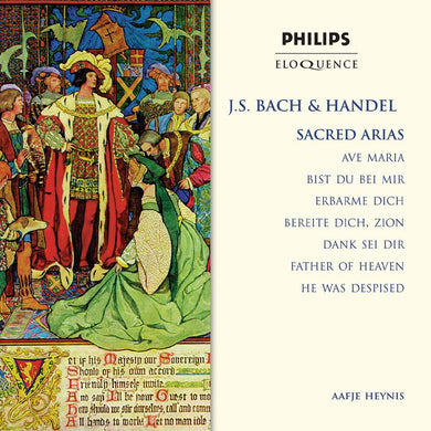 BACH & HANDEL: SACRED ARIAS - AAFJE HEYNIS, AMSTERDAM CHAMBER ORCHESTRA
