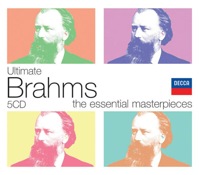 ULTIMATE BRAHMS BOX - 5 CDS