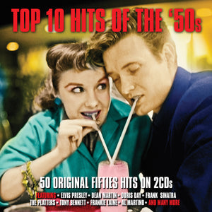 TOP 10 HITS OF THE '50S (2 CDS)