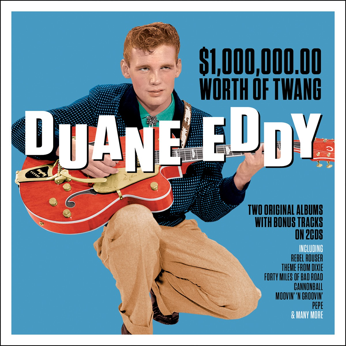 DUANE EDDY: $1,000,000 Worth Of Twang Vol.1&2 (2 CDS)