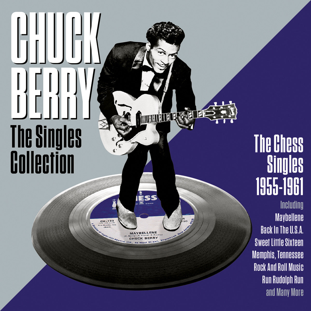 CHUCK BERRY: THE CHESS SINGLES (2 CDS)