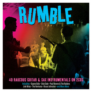 RUMBLE: GUITAR AND SAXOPHONE INSTRUMENTALS (2 CDS)