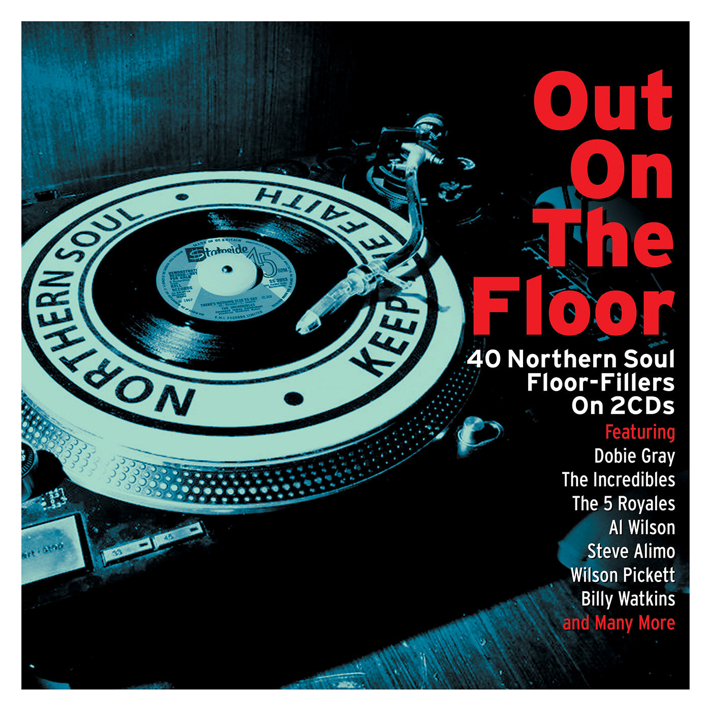 OUT ON THE FLOOR - NORTHERN SOUL FLOOR FILLERS (2 CDS)