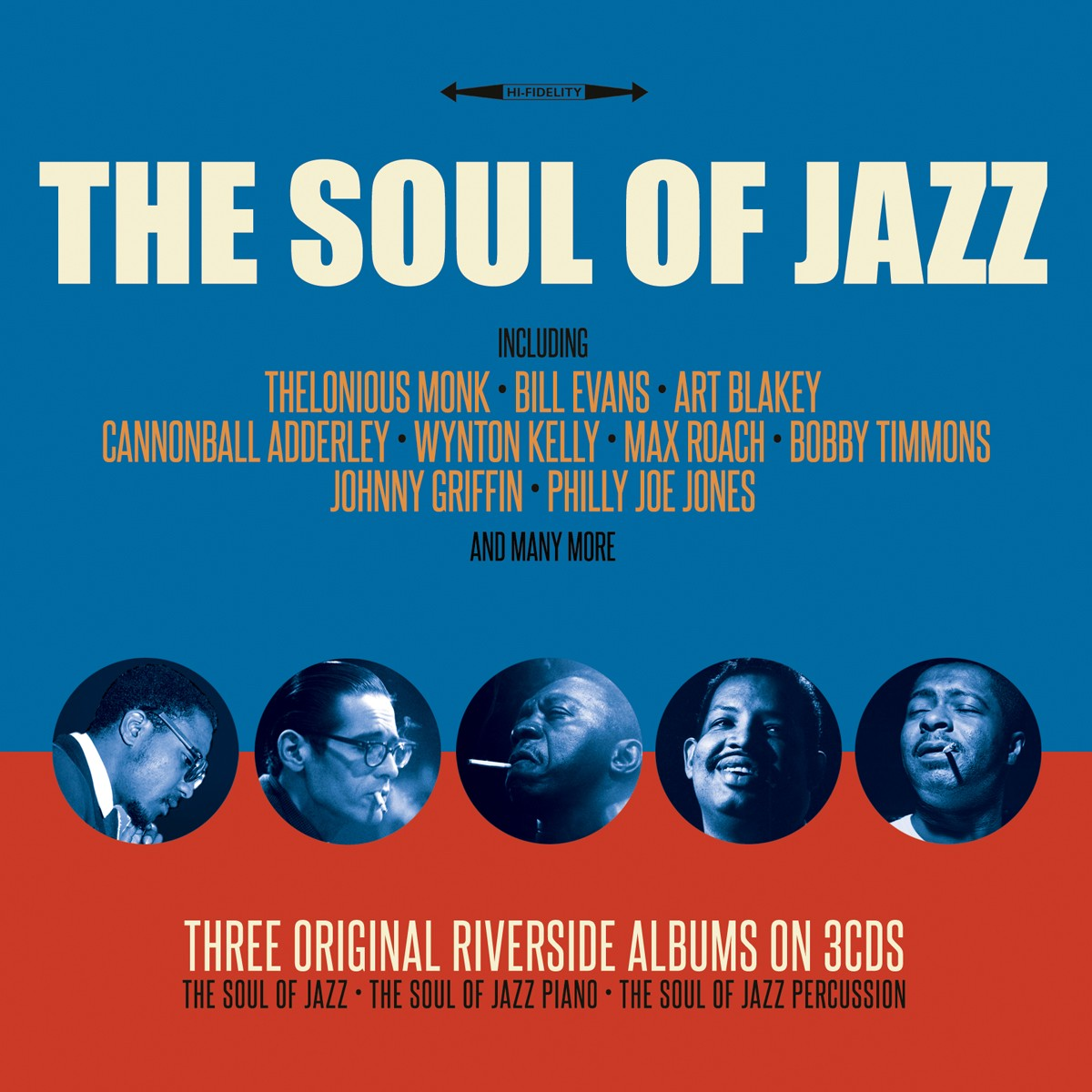THE SOUL OF JAZZ (3 CDS)