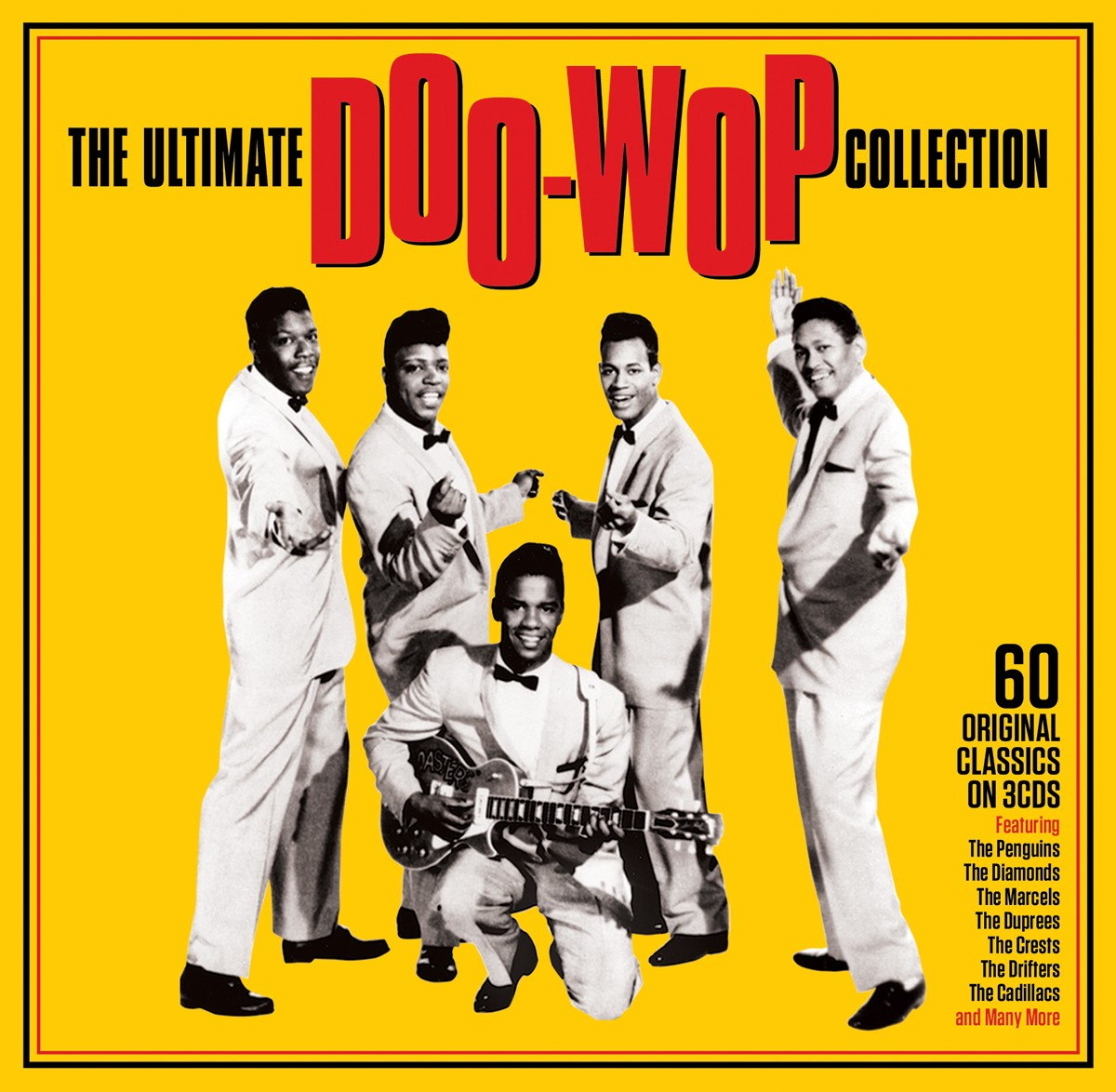 ULTIMATE DOO-WOP COLLECTION: (2 CDS) - Penguins, Diamonds, Marcels, Duprees, Crests, Drifters, Dell-Vikings...