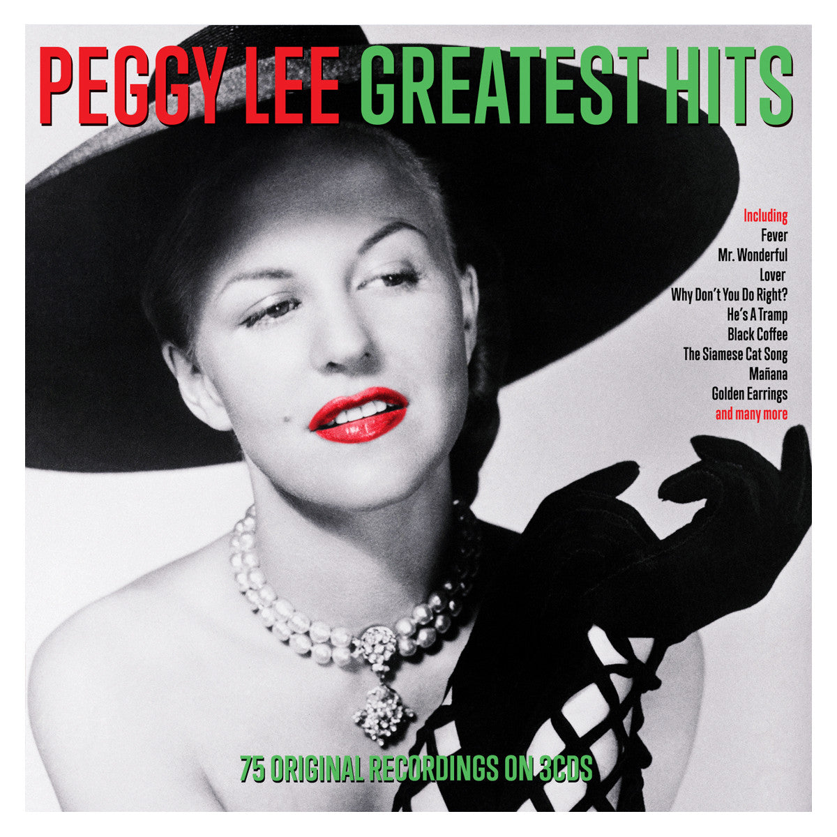 PEGGY LEE: Greatest Hits (3 CDs)