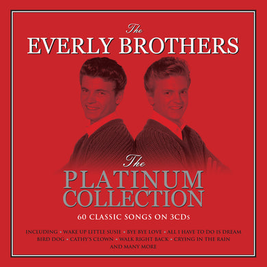 EVERLY BROTHERS: PLATINUM COLLECTION (3 CDs)