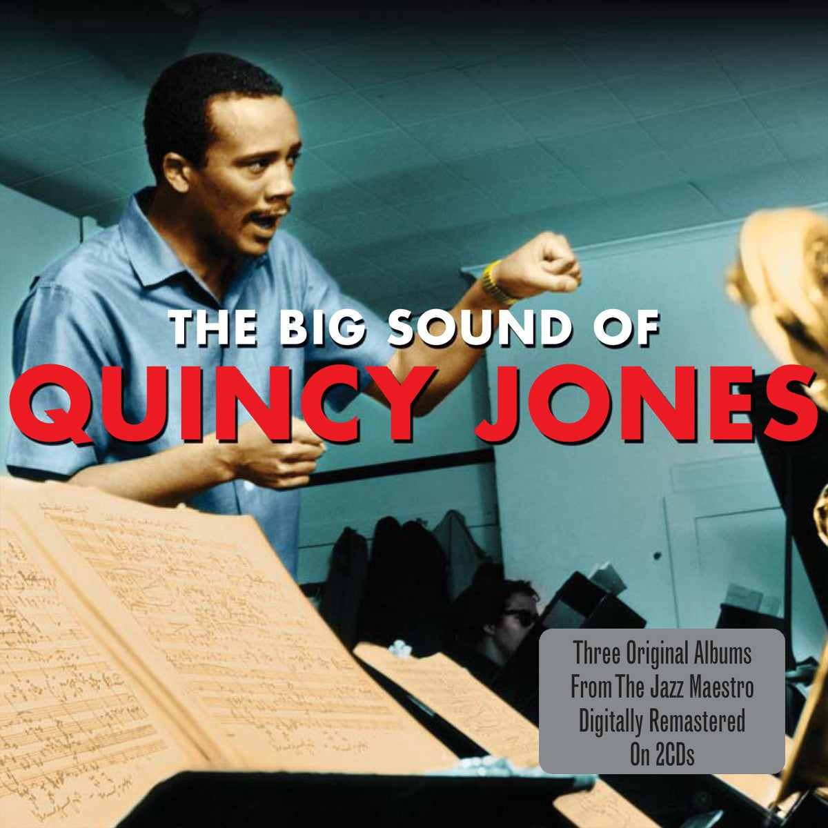 QUINCY JONES: The Big Sound (2 CDS)