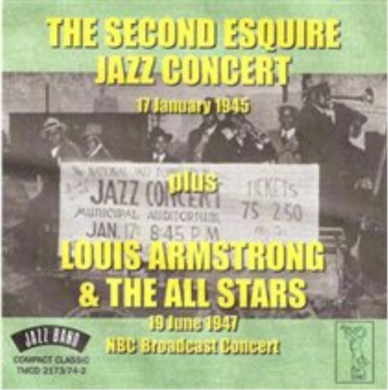 SECOND ESQUIRE JAZZ CONCERT: Louis Prima, Sidney Bechet, Benny Goodman + Louis Armstong & The Allstars (2 CDs)