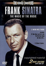 Load image into Gallery viewer, FRANK SINATRA - THE MAGIC OF THE MUSIC - 2 DISC SET (CD and DVD)
