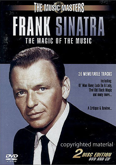 FRANK SINATRA - THE MAGIC OF THE MUSIC - 2 DISC SET (CD and DVD)