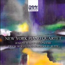 Load image into Gallery viewer, MARX & KORNGOLD - NEW YORK PIANO QUARTET