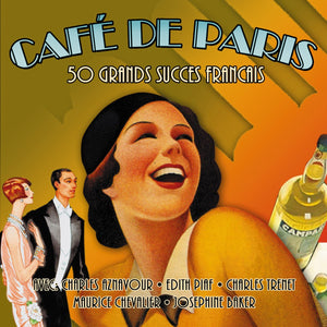 CAFE DE PARIS-50 GRAND SUCCESS FRANCAIS (2 CDS)