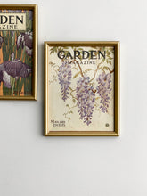 "Load image into Gallery viewer, rare framed 1920s ""Garden Magazine"" covers, set of 2"