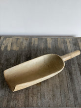 Load image into Gallery viewer, large primitive wood scoop