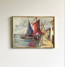 Load image into Gallery viewer, framed boats