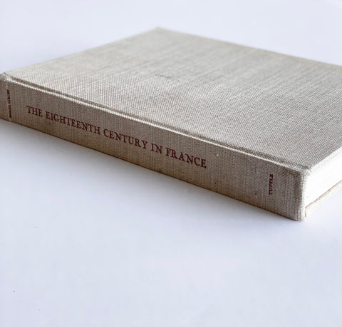 "vintage reference book, ""The eighteenth century in france"""