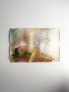 vintage abstract nude watercolour