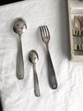Load image into Gallery viewer, complete set of 37 vintage silver plated cutlery
