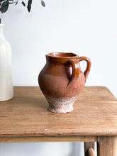 Load image into Gallery viewer, vintage terra cotta double handled pot