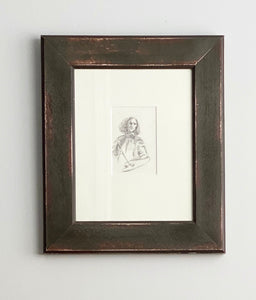 original framed sketch