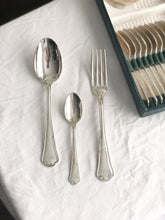 Load image into Gallery viewer, Set of 36 vintage silver plated cutlery