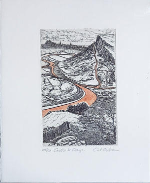 CASTLE & CRAGS by Cat Outram