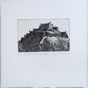 CASTLE FROM THE WEST by Cat Outram