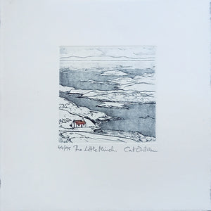 cat outram etching the little minch