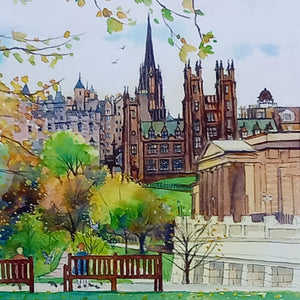 NEW COLLEGE EDINBURGH  by Keli Clark