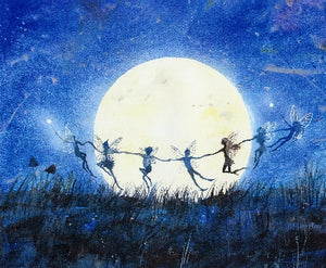 Keli Clark Moonlight Celebrations A3 print