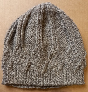 Aran Beanie by Heather Knits