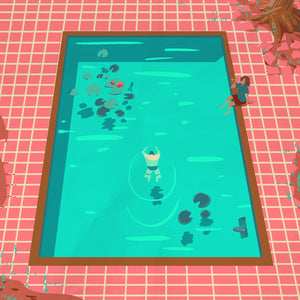 POOL'S OPEN GICLEE PRINT by Ben Harley
